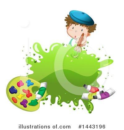 Painting Clipart #1443196 by Graphics RF