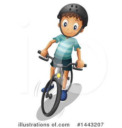 Bike Clipart #1443207 by Graphics RF