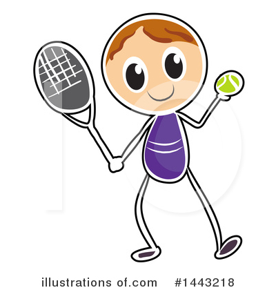 Tennis Clipart #1443218 by Graphics RF