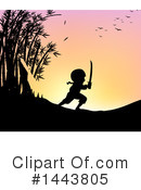 Royalty-Free (RF) Boy Clipart Illustration #1443805