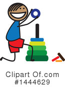 Boy Clipart #1444629 by ColorMagic