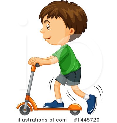 Scooter Clipart #1445720 by Graphics RF