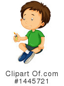 Royalty-Free (RF) Boy Clipart Illustration #1445721