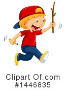 Royalty-Free (RF) Boy Clipart Illustration #1446835