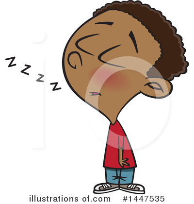 Tired Clipart #1447535 by toonaday