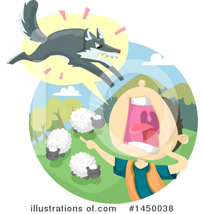 Wolf Clipart #1450038 by BNP Design Studio