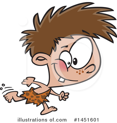 Caveman Clipart #1451601 by toonaday