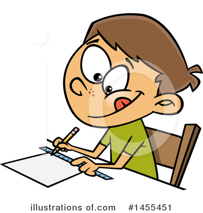 School Boy Clipart #1455451 by toonaday