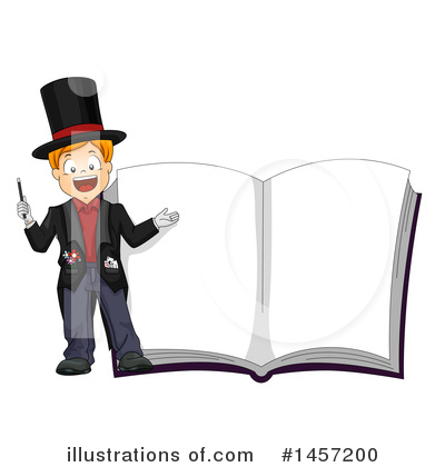 Magician Clipart #1457200 by BNP Design Studio