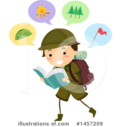Camping Clipart #1457209 by BNP Design Studio