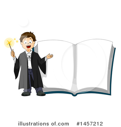 Spell Book Clipart #1457212 by BNP Design Studio
