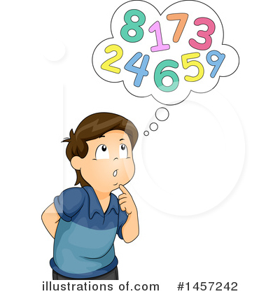Number Clipart #1457242 by BNP Design Studio