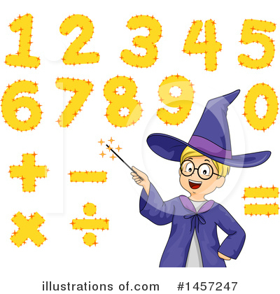 Number Clipart #1457247 by BNP Design Studio