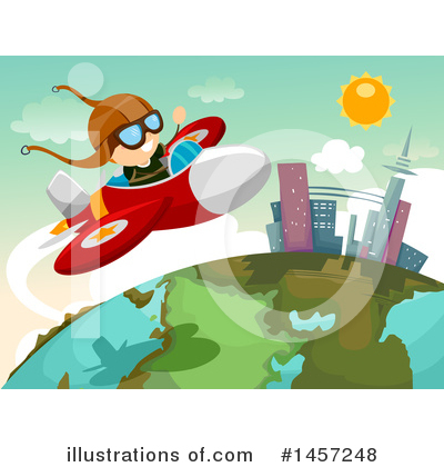Flying Clipart #1457248 by BNP Design Studio
