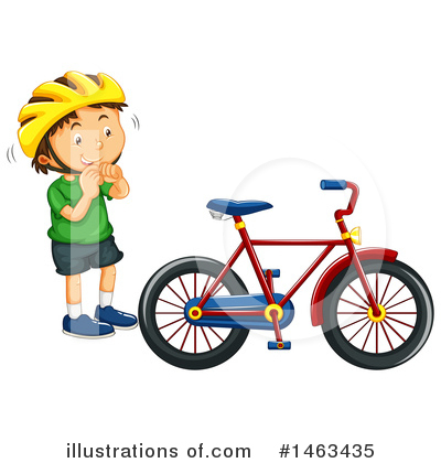 Bike Clipart #1463435 by Graphics RF