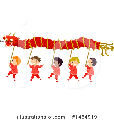 Chinese New Year Clipart #1464919 by BNP Design Studio