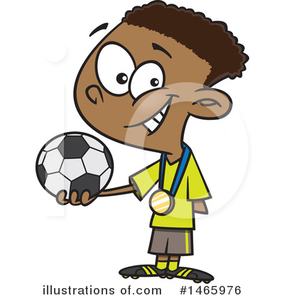 Soccer Clipart #1465976 by toonaday
