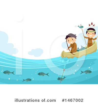 Canoe Clipart #1467002 by BNP Design Studio