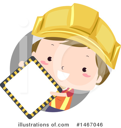Construction Worker Clipart #1467046 by BNP Design Studio