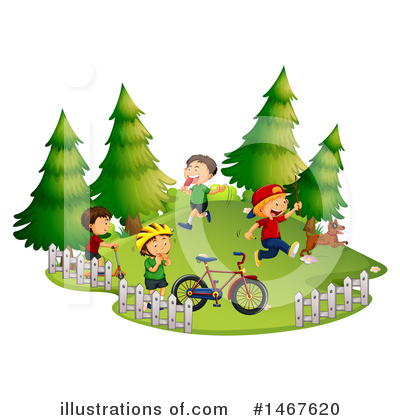 Bicycle Clipart #1467620 by Graphics RF
