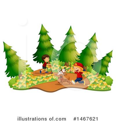 Trail Clipart #1467621 by Graphics RF