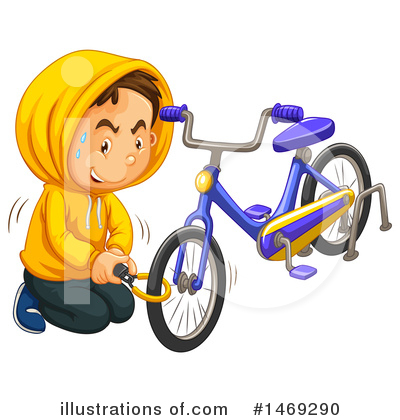 Bicycle Clipart #1469290 by Graphics RF