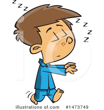 Sleep Clipart #1473749 by toonaday