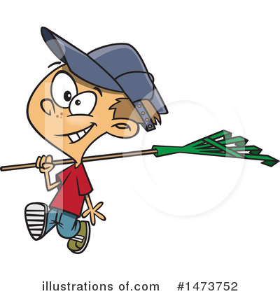 Yard Work Clipart #1473752 by toonaday
