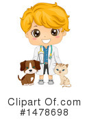 Royalty-Free (RF) Boy Clipart Illustration #1478698