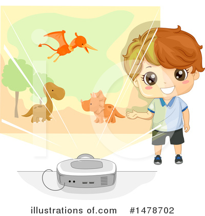 Dinosaur Clipart #1478702 by BNP Design Studio