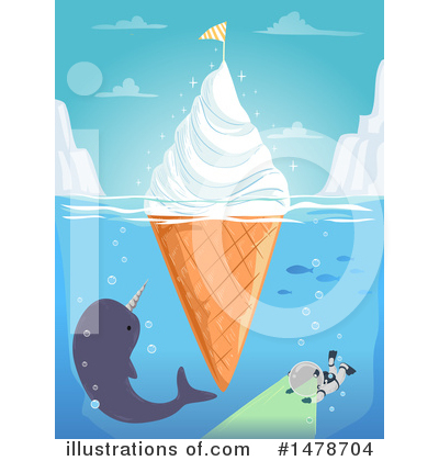 Iceberg Clipart #1478704 by BNP Design Studio