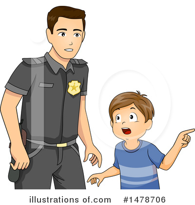 Police Clipart #1478706 by BNP Design Studio