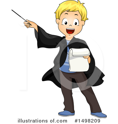 Wizard Clipart #1498209 by BNP Design Studio