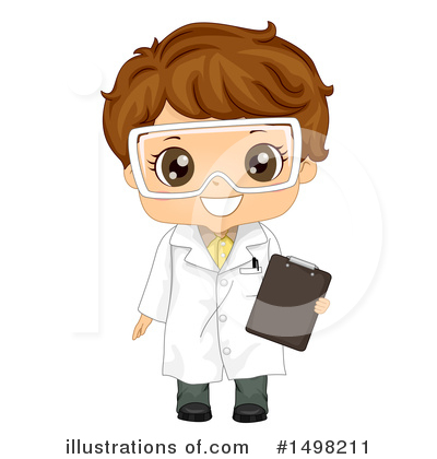 Scientist Clipart #1498211 by BNP Design Studio