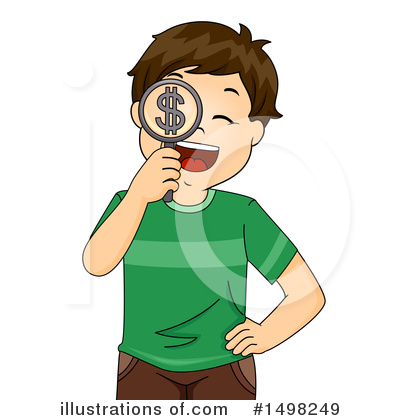 Magnifying Glass Clipart #1498249 by BNP Design Studio