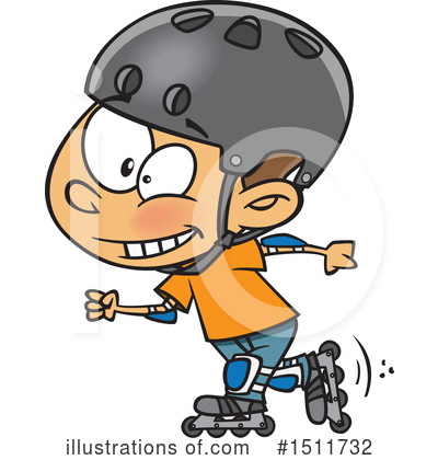 Skating Clipart #1511732 by toonaday