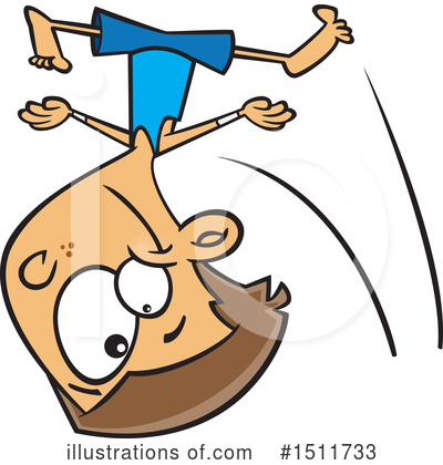 Gymnastics Clipart #1511733 by toonaday