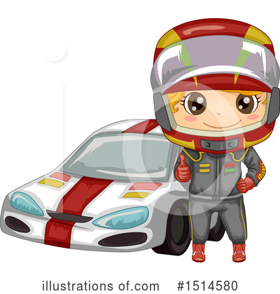 Motor Sports Clipart #1514580 by BNP Design Studio