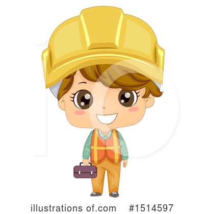 Construction Worker Clipart #1514597 by BNP Design Studio