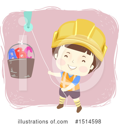 Construction Worker Clipart #1514598 by BNP Design Studio