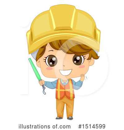 Construction Worker Clipart #1514599 by BNP Design Studio