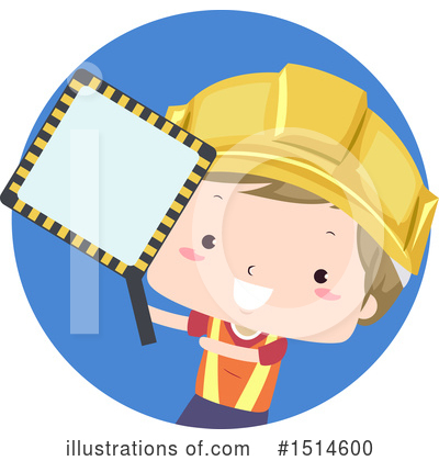 Construction Worker Clipart #1514600 by BNP Design Studio