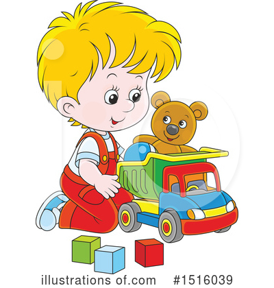 Dump Truck Clipart #1516039 by Alex Bannykh