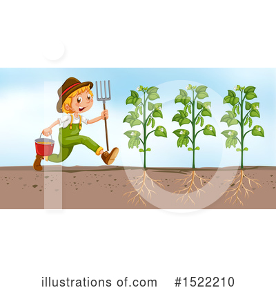 Farmer Clipart #1522210 by Graphics RF