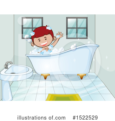 Bathing Clipart #1522529 by Graphics RF