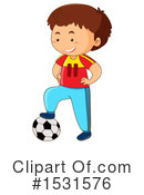 Boy Clipart #1531576 by Graphics RF