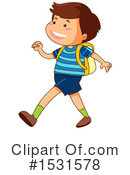 Boy Clipart #1531578 by Graphics RF