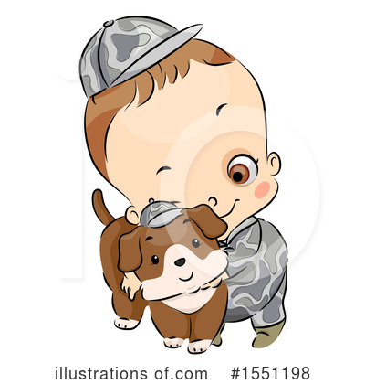 Toddler Clipart #1551198 by BNP Design Studio