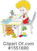 Boy Clipart #1551690 by Alex Bannykh