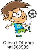 Boy Clipart #1568593 by toonaday